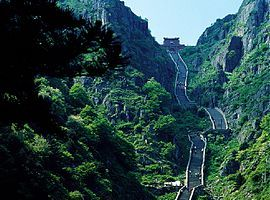 Mount Tai, location of sacrifices to Shang Di